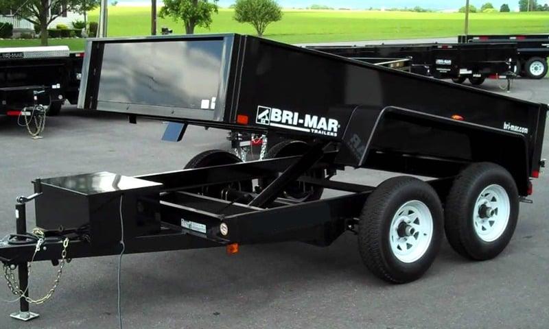 Brimar utility dump trailer